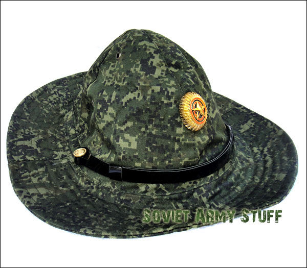 f23d9bf7f92 Russian Army Military Afghanistan War Type Boonie Hat Panama DIGITAL FLORA  CAMO
